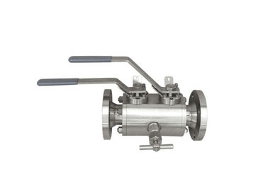 Stainless Steel Double Block And Bleed Ball Valve