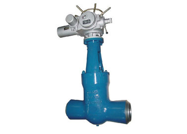High Pressure Seal Bonnet Gate Valve A217 Wc6 Wc9 For Electric Motorized Power Station