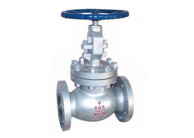 300lb ASTM A216 Wcb Globe Valve With Flanged / Butt - Welding End Connection