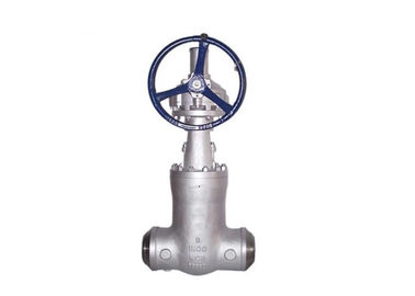 Industrial Wedge Gate Valve With Alloy Steel C5 / C12 / C12A / Cn3mn / Alloy 20 Material