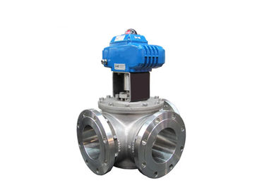 3 Way Trunnion Mounted Ball Valve High Pressure